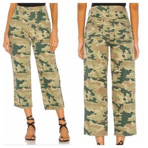 Free people Remy camo cargo crop pants